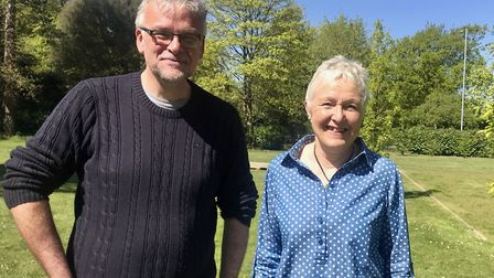 Edward Maxfield and Sallie Eastick, new and former chief executives of Musical Keys. Photo: Geraldin