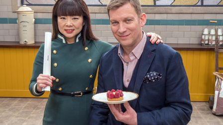 Bake Off The Professionals: Benoit and Cherish ready to attack (C) Love Productions