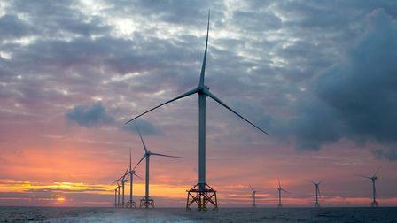Vattenfall intends to build two of the world' largest wind farms off the coast of Norfolk. Picture: