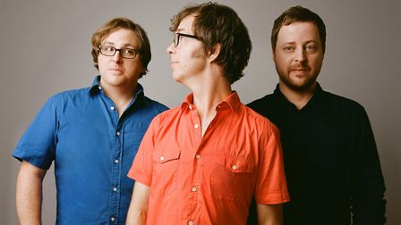 In the early days with Ben Folds Five. Photo: Sony
