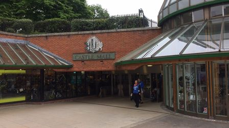 Bags Etc in Castle Mall has closed after the company went into liquidation. Picture: Archant.