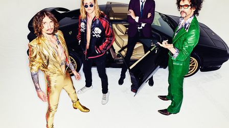The Darkness are to headline the final weekend of Festival Too in Kings Lynn, on Saturday, July 14 P