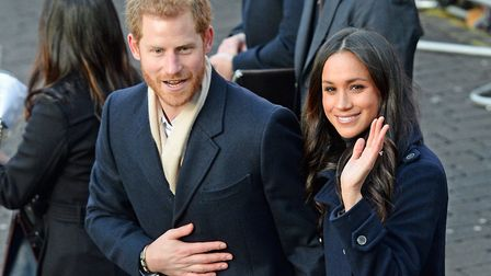 Prince Harry and Meghan Markle. Picture: PA Wire/PA Images.
