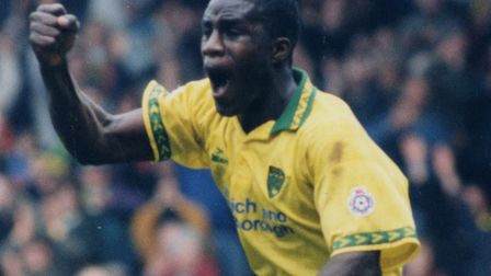 Ade Akinbiyi scored three goals in 51 games for City between 1993 and 1997. Picture: Archant library
