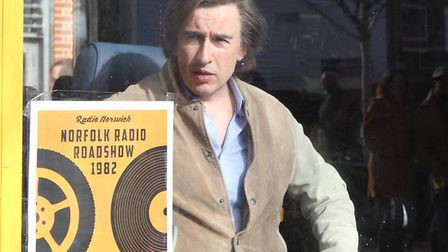 Steve Coogan hits the city of Norwich film his Alan Partridge movie. Picture Archant.