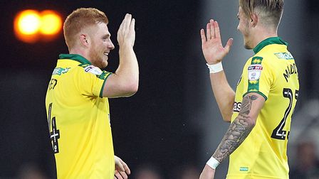 Harrison Reed only scored one goal for Norwich City - but it was worth savouring against QPR. Pictur