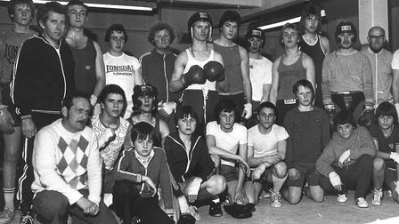 Norwich Lads Club boxers in the 1970s. Picture: Archant