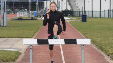 Iona Lake, in training at the Sportspark, is an NSA member. Picture: DENISE BRADLEY