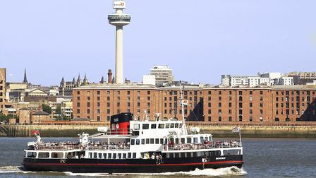 Liverpool Feature.Pictured: Mersey Ferry at the Albert Dock There's no better way to experience Live
