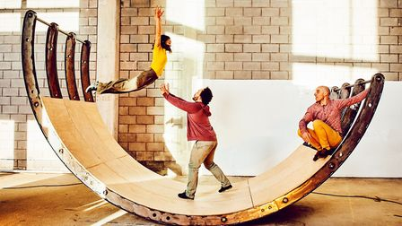 Ockham's Razor will be performing Belly of the Whale outside The Forum in Norwich. Photo: Mark Dawso