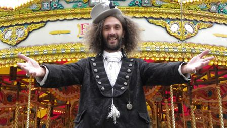NNF18 - Andy Benfield of Travelling Light Circus, one of the acts that will be at The Garden Party.