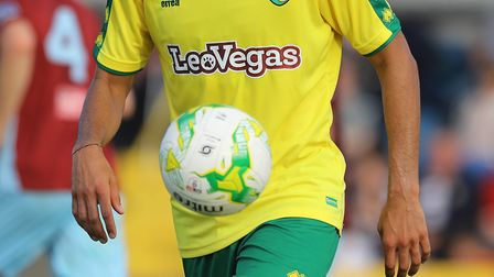 New Sponsor for Norwich City during the Pre-season Friendly match at St Colman's Park, CobhPicture b