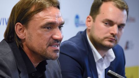 Norwich City head coach Daniel Farke and sporting director Stuart Webber seem set for a another busy