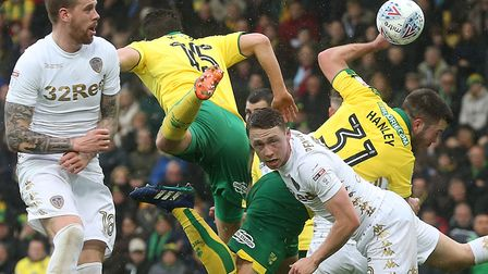 Timm Klose and Grant Hanley dug Norwich City out of trouble on more than one occasion during the sea
