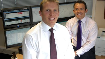 Russell Taylor, left and Alan Taylor, right, put investors' money into a high-risk scheme through th