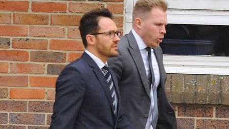 Alan Taylor, left, and Russell Taylor, carried out the fraud from 2008 to 2015. Picture: DENISE BRAD