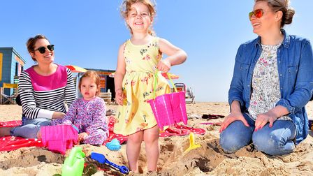 Traders and families are gearing-up for great weather in Yarmouth over the bank holiday weekend.Laur