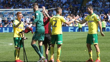 Harrison Reed of Norwich, James Maddison of Norwich, Ivo Pinto of Norwich, Angus Gunn of Norwich and