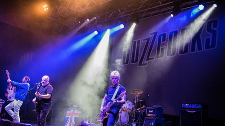 Buzzcocks performing at Norwich UEA LCR. Picture Paul Jones.