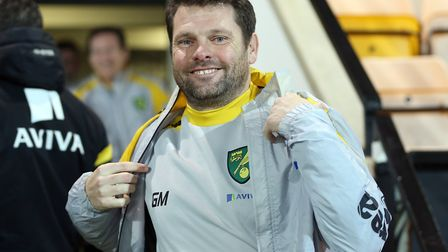 Graeme Murty was in charge of Norwich City's U18s before leaving to join Rangers. Picture: JASON DAW