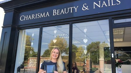 Charlotte Sims has been named beautician of the year. Photo: Archant