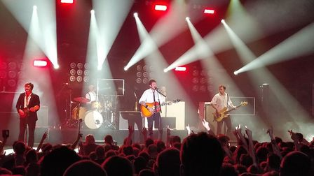 Frank Turner and the Sleeping Souls perform at UEA's LCR. Picture: Jack Walsh