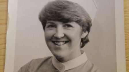 Sarah Beart as a young nurse. Photo: West Norfolk Clinical Commissioning Group
