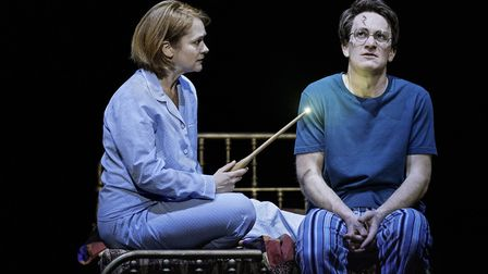 The Broadway production of Harry Potter and the Cursed Child Parts One and Two.Pictured (l-r) are Po