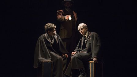 The Broadway production of Harry Potter and the Cursed Child Parts One and Two.Pictured (l-r) are Sa