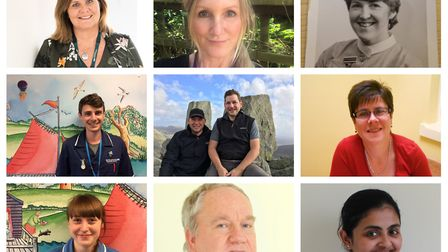 Nurses from Norfolk and Suffolk. Photos: Archant