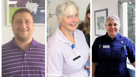 Nurses from Norfolk and Suffolk. Photo: Archant