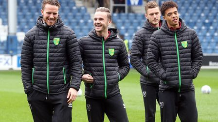 What does the future hold for, from left, Marley Watkins, James Maddison, Dennis Srbeny and Jamal Le