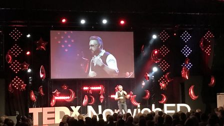 The TEDxNorwichEd 2018 event at The Space in Sprowston. Picture: Flomotion