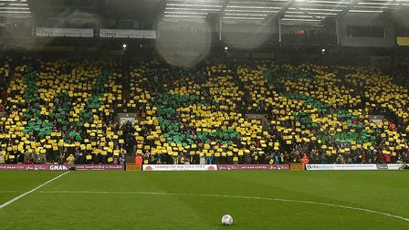 Wes Hoolahan was given a rousing send off by Norwich City fans. Picture: Paul Chesterton/Focus Image