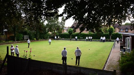 Flashback to when the bowling green was in use. Picture: DENISE BRADLEY