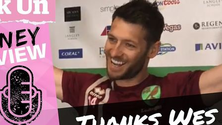 Wes Hoolahan began his big sign-off from Norwich City this weekend with his final pre-match press co