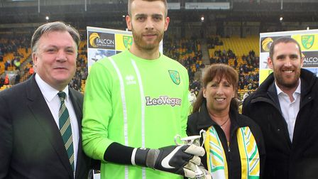 Angus Gunn came third in Norwich City's player of the season voting - but is not expected to get the