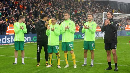 Emotional scenes as Wes Hoolahan of Norwich walks round the pitch at the end of the Sky Bet Champion