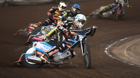 King's Lynn Stars came up against former skipper Rory Schlein at Wolverhampton on Monday night. Pict