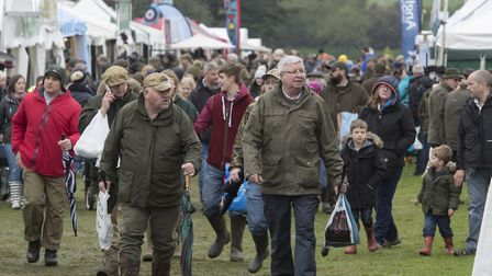 The 2018 East Anglian Game and Country Fair taking place on the Euston Estate. Photo : Steve Adams