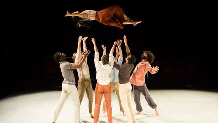 Luca Silvestrini dance piece Border Tales coming to Norwich Playhouse. Photo: Jane Hobson