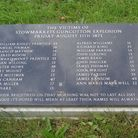 Children listed with adults in the memorial to victims of an Suffolk explosives disaster. Picture: D