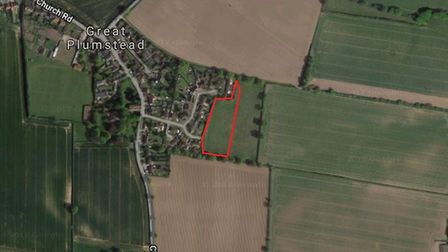 More than 20 new homes could be built on land owned by Broadland District Council in Great Plumstead