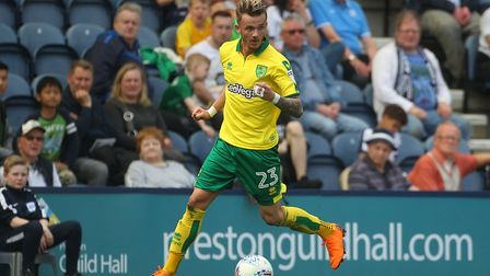James Maddison has reaped the benefits of sharing a dressing room with Wes Hoolahan. Picture: Paul C