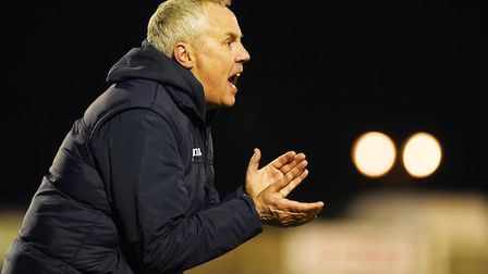 Ian Culverhouse will be leaving King's Lynn Town at the end of this season. Picture: Archant