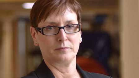 Christine Allen, is chief executive at the James Paget Hospital.Byline: Sonya DuncanCopyright: Archa
