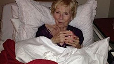 Trixie Gough, 76, from Norfolk, who died three days after Christmas in 2015 from breast cancer. Pict