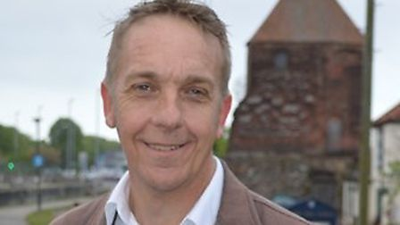 Norfolk county councillor Mike Smith-Clare. Pic: Labour Party.