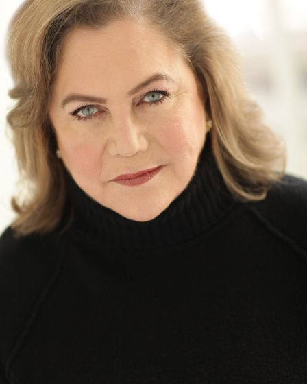 Kathleen Turner who is bringing her show Finding My Voice to the region. Photo: Fane Productions