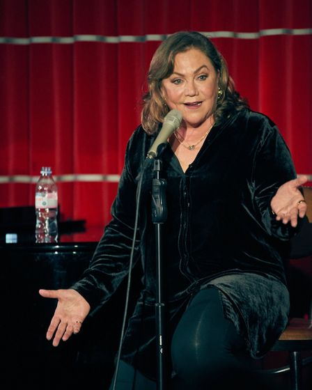 Kathleen Turner who is bringing her show Finding My Voice to the region. Photo: Pawel Sanez